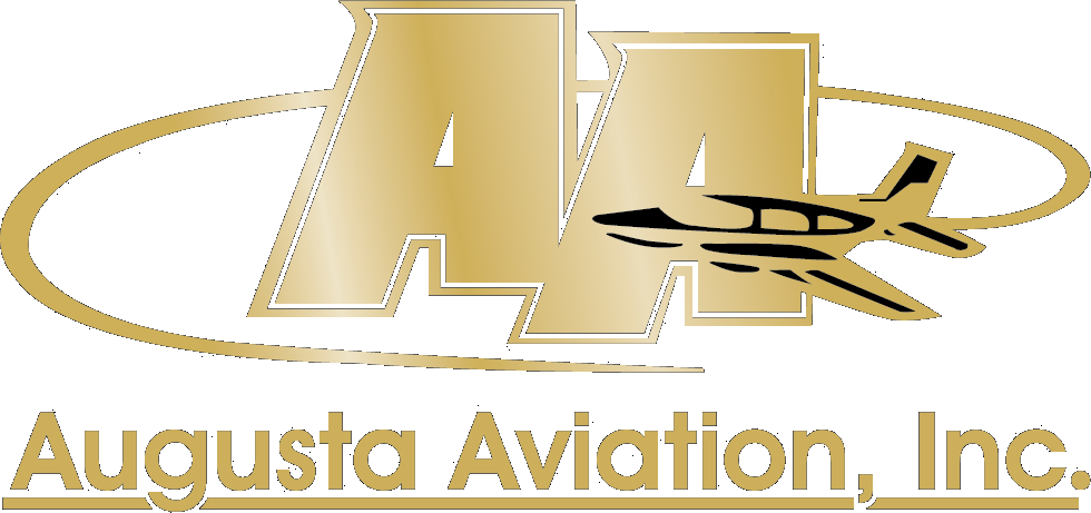 AAINC Logo Gold only with black in plane PNG